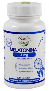 Melatonina 3 mg 120 tabl