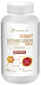 Różeniec Górski 200mg Extract 20:1 120kap Progress