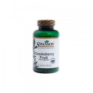 Niepokalanek (Chasteberry Fruit) 400mg - 120 kapsu