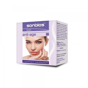 Krem ANTI-AGE 50ml SANBIOS