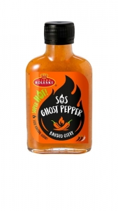 Sos Bardzo Ostry Ghost Pepper 115g