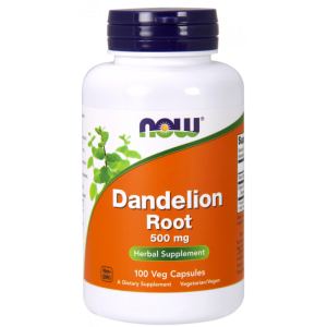 Now Dandelion root (mniszek lekarski) 500mg 100kap