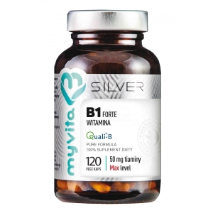 Silver witamina B1 forte 50mg 120 kaps prones