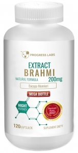Brahmi Bacopa Monnierie 200mg 120kap Progress Labs
